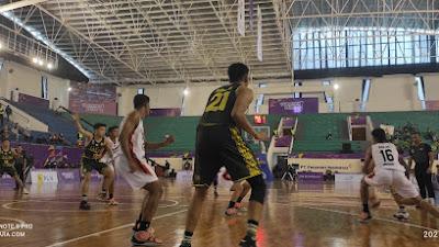 Tim Basket Sulut Kembali Menang, Kali ini Lawan Jatim