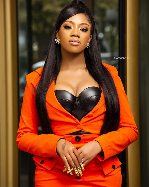 It's how easily Grace carries me on her shoulders- BBNaija Angel says as she shares Stunning Photos of herself