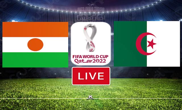 Watch Match Algeria vs Niger Live Streaming FIFA World Cup Qatar 2022 Qualifier