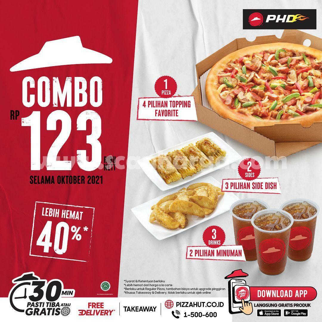 Promo PHD COMBO 123 Harga 3 Menu Cuma Rp. 123.000 nett