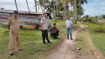 Nagari Salido Peroleh Dana Pokir Anggota DPRD Pessel untuk Bangun Jalan Wisata