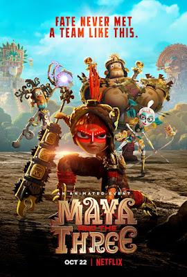 Maya and the Three S01 Dual Audio HEVC [Hindi – Eng] WEB Series 720p HDRip ESub x265 | All Episode