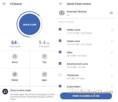تحميل تطبيق CCleaner Pro MOD APK احدث اصدار 2022 - البريميوم بلا اعلانات