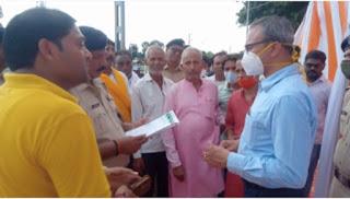 दुधौड़ा रेलवे स्टेशन का आयुक्त मो. लतीफ खां ने किया निरीक्षण,लोंगों ने रेल प्रबंधक को सौंपा ज्ञापन   #NayaSaberaNetwork