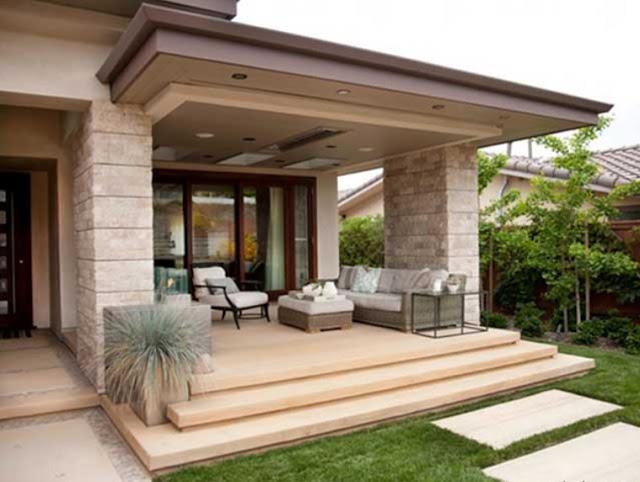 home terrace decoration