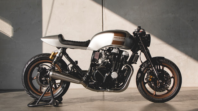 Honda CB750 By Kaspeed Custom Motorcycles Hell Kustom