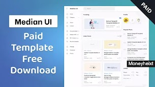 Median Ui Blogger Template Free Download