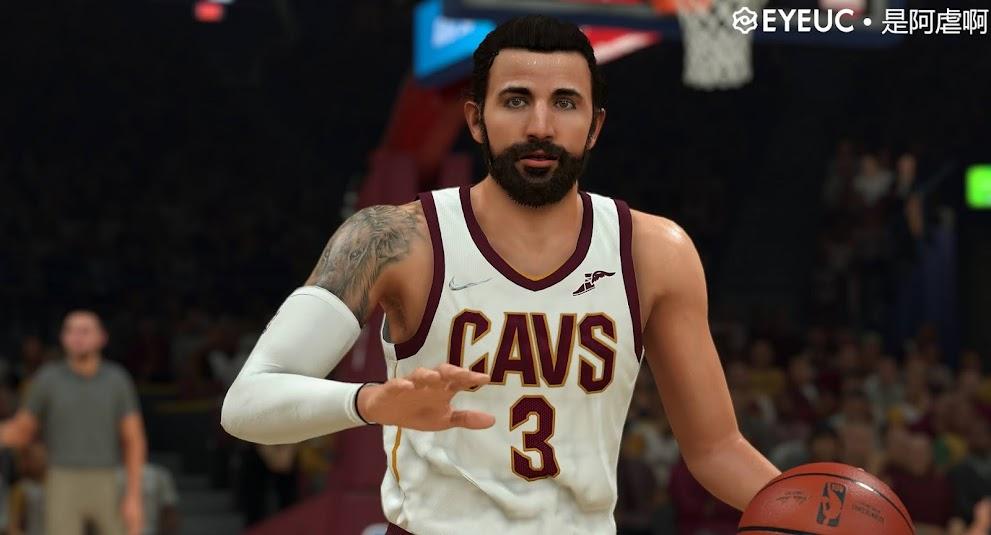 NBA 2K22 Ricky Rubio Cyberface and Body Model by SteveDai