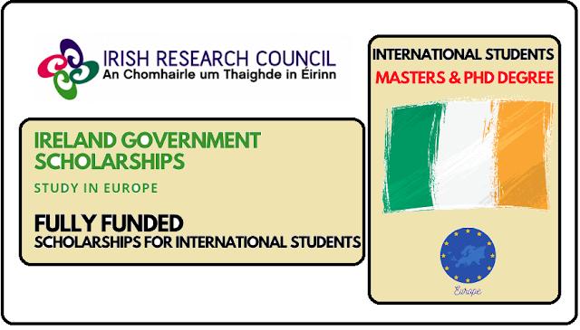 منحة دراسية في أيرلندا منحة حكومة أيرلندا 2022   ممول بالكامل