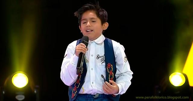 """Talentoso niño ayacuchano participa en la Voz Kids Perú cantando """"Flor de retama"""" [VÍDEO]"""