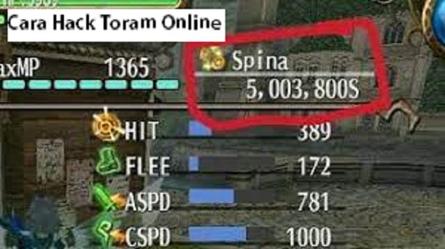 Cara Hack Toram Online