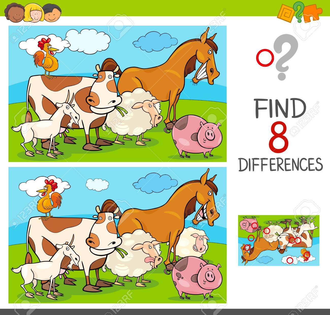 Enjoy the best find differences games for free