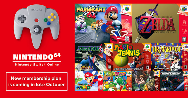 Nintendo Switch Online Nintendo 64