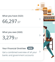 Have your accounts all over the place? OCBC Financial OneView can help
