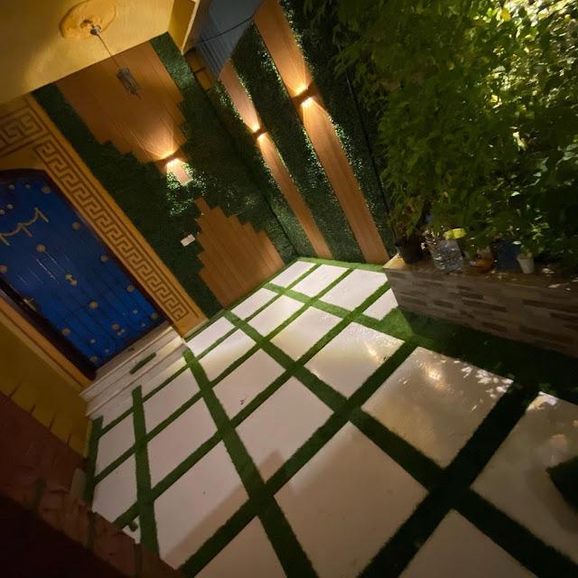 شركات زراعة الحدائق بجدة لمستها الفنية مميزة داخل حديقة المنزل
