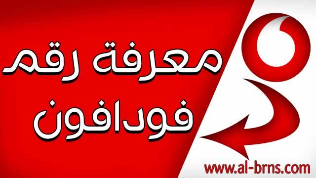 معرفة رقم فودافون مصر Vodafone 2022