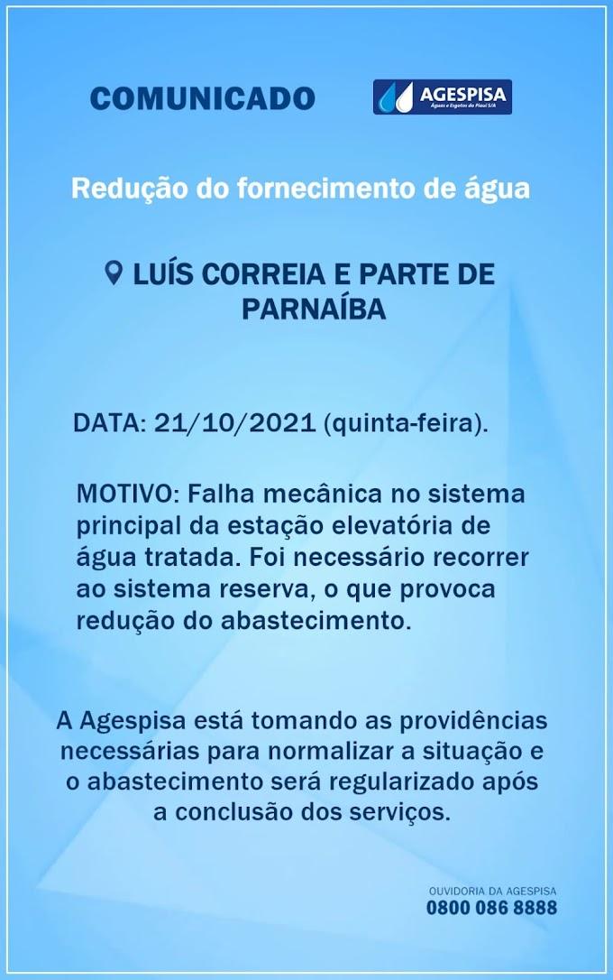 COMUNICADO DA AGESPISA