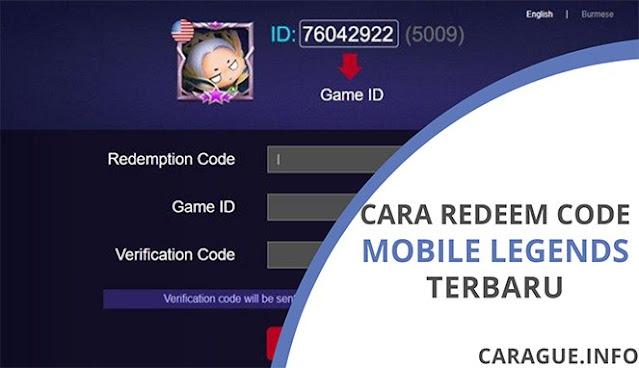 Ingin tahu bagaimana cara melakukan penukaran atau redeem code serta mendapatkan hadiahnya pada game Mobile Legends (ML). Yuk, simak penjelasannya disini.