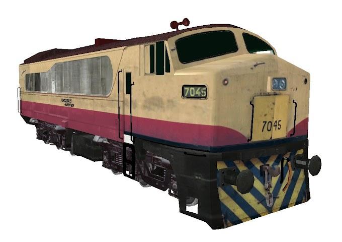 Baldwin RF615-E 7045 - Ferrocarriles Argentinos
