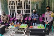 Jelang Pilkades Serentak, Kasat Binmas Polres Serang Lakukan Sambang Cipta Kondisi ke Toga dan Tomas