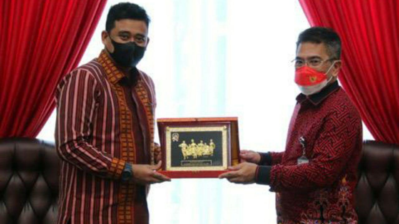 Wali Kota Medan Harapkan Dukungan TVRI Dalam Promosikan Budaya & Pariwisata Di Kota Medan