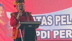 Tutup Kaderisasi PDIP di Nisel, Rapidin Simbolon Gaungkan Presiden Kedepan Tetap Kader Partai
