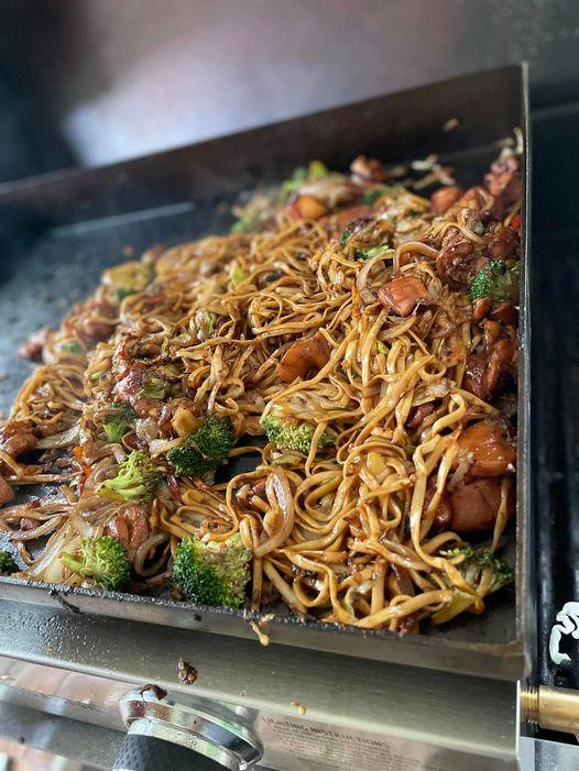 Easy Chicken Teriyaki Chow Mein Recipe