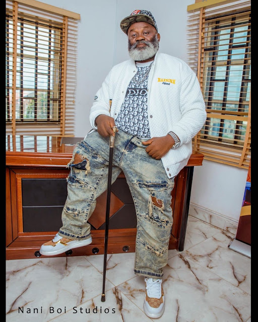 Check out the Lovely Photos of Actor Harry Anyanwu as he celebrates his 62nd birthday in Grand Style
