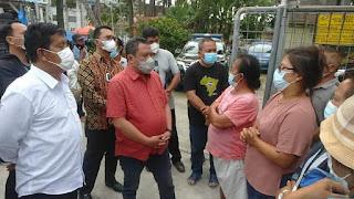 Kunjungi PKL Terdampak Rebranding Parapat, Bupati Simalungun dan Lamhot Sinaga Berjanji akan Cari Solusi