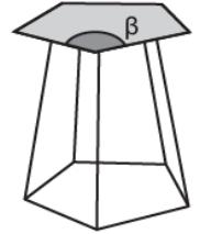 O desenho a seguir representa uma banqueta que está sendo projetada