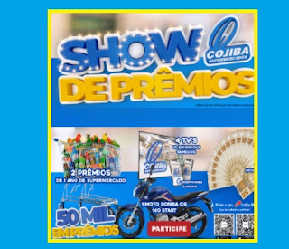 Cojiba Show de Prêmios Supermercados