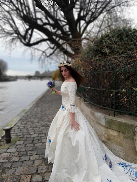 Robe de mariée D'Ors et de Soie