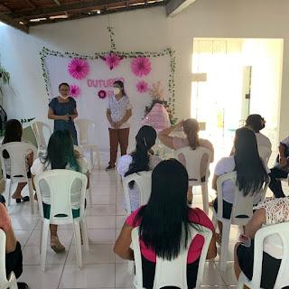AD Córrego e UBS realizam palestras sobre câncer de mama