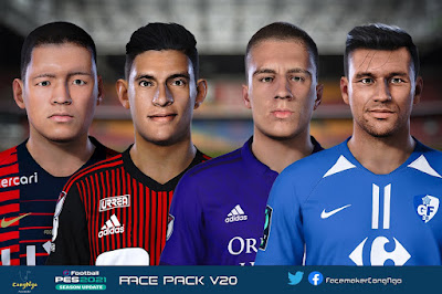 PES 2021 FacePack V20 by CongNgo