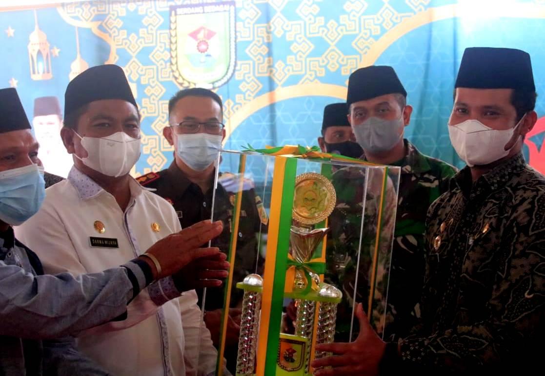 Bupati Sergai Tutup FSQ Ke XVIII Tingkat Kabupaten,  Berikut Daftar Pemenang