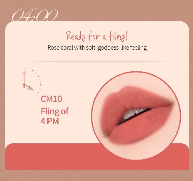 Màu CM10 - Flirting