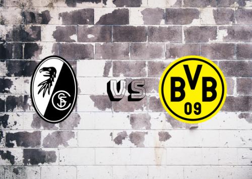 Friburgo vs Borussia Dortmund  Resumen y Partido Completo