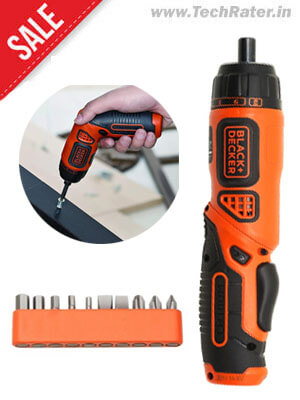 Wireless Electric Screwdriver with LED light and 10 bits