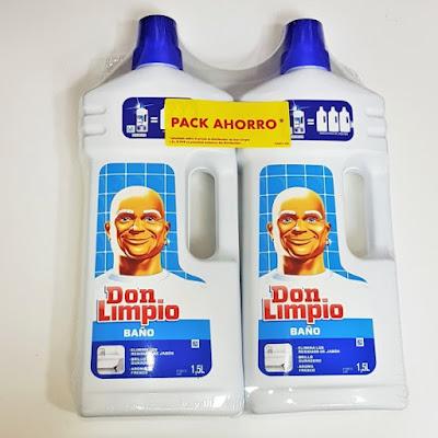 Don limpio baño