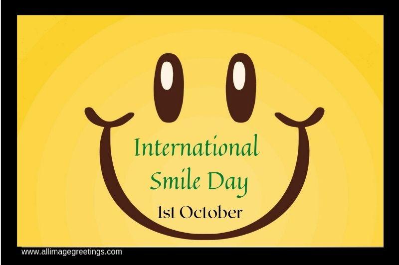 international smile day image