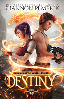 Destiny - A Fantasy Romance by Shannon Pemrick - book promotion sites