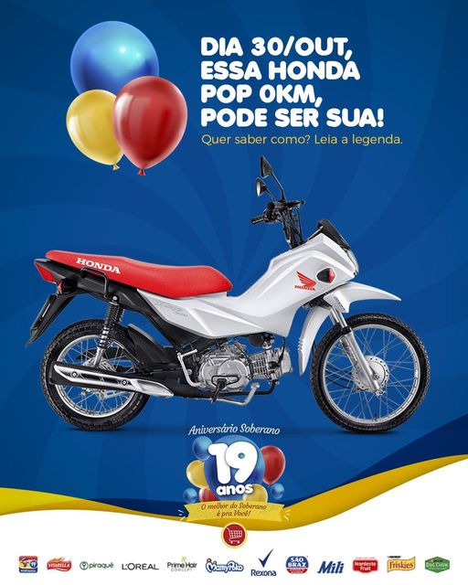 Promoção de Aniversário Soberano!!!