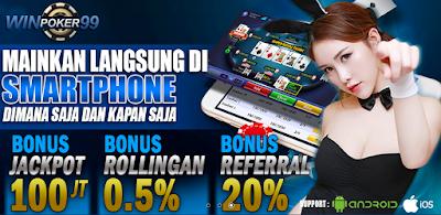 Winpoker99 : Situs Judi Poker Online Uang Asli Terpercaya