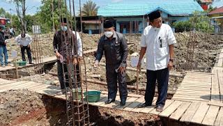 Wakil Ketua DPRD Kapuas Hulu Dukung Pembangunan Masjid Baitul Maqdis