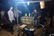 Jaga kamtibmas, Polsek Cimanuk Polres Pandeglang laksanakan Patroli malam