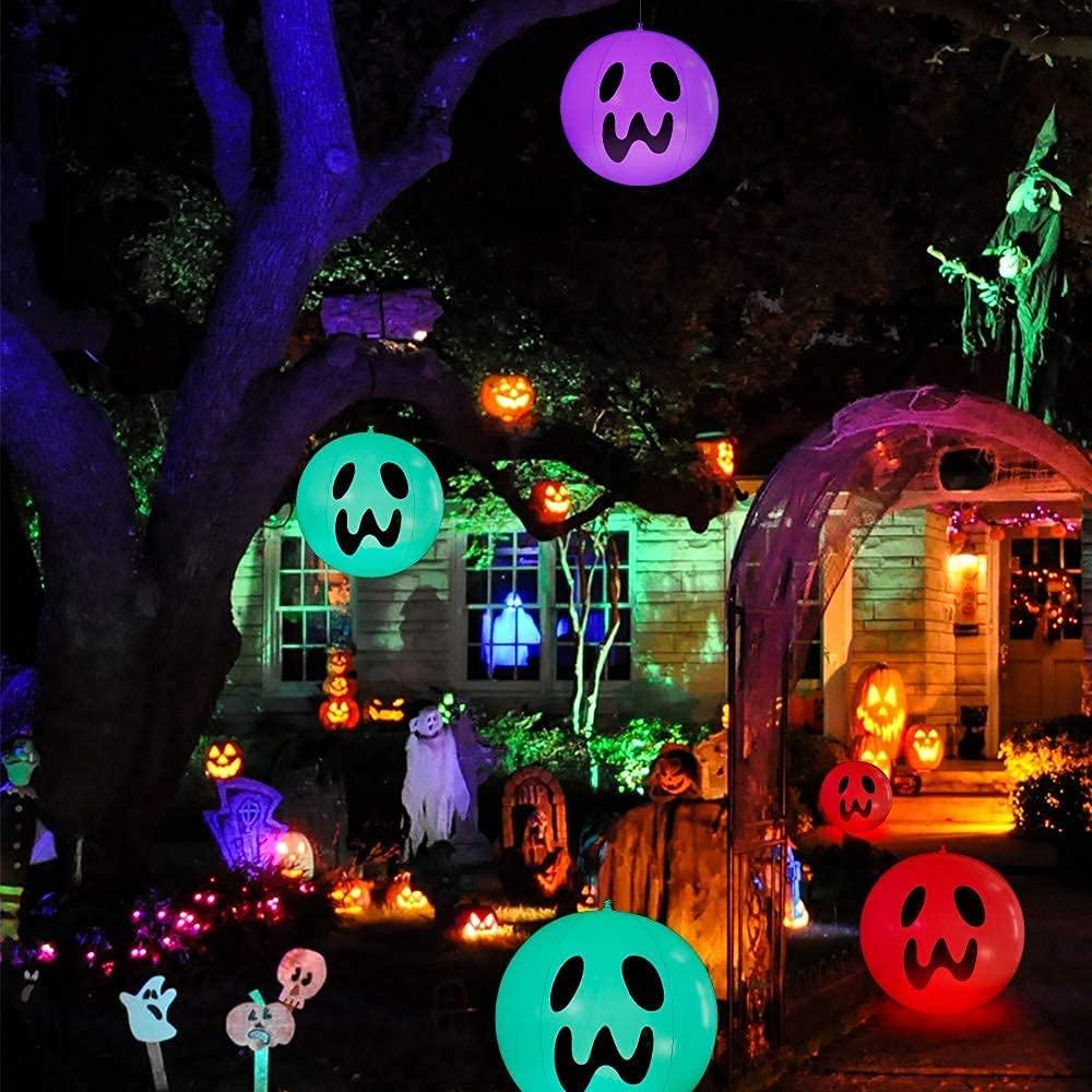 Halloween garden decoration 2021