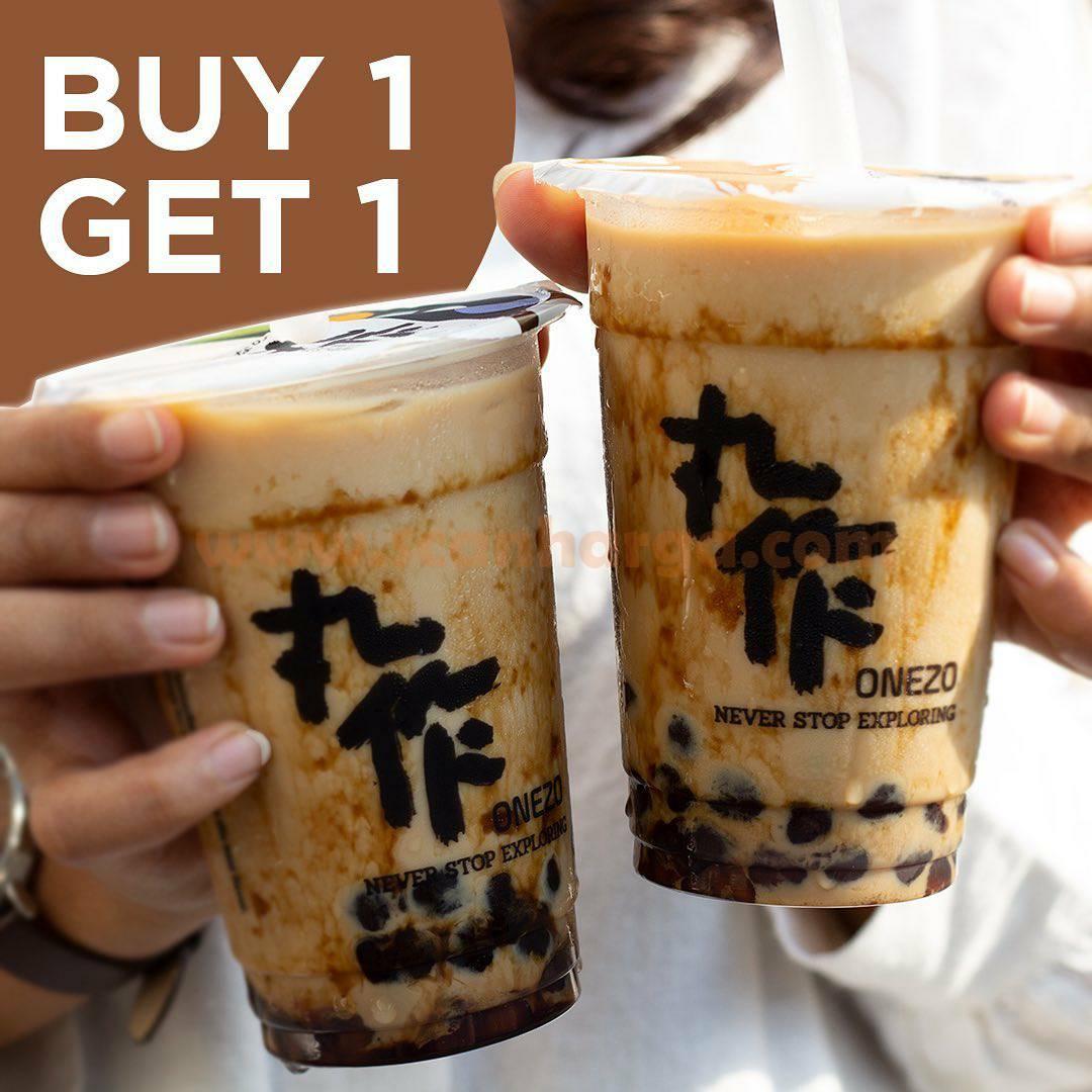 Promo ONEZO BeLI 1 GRATIS 1 Dirty Brown Sugar Milk Tea