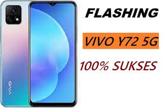 Cara Flash Vivo Y72 5G PD2069F