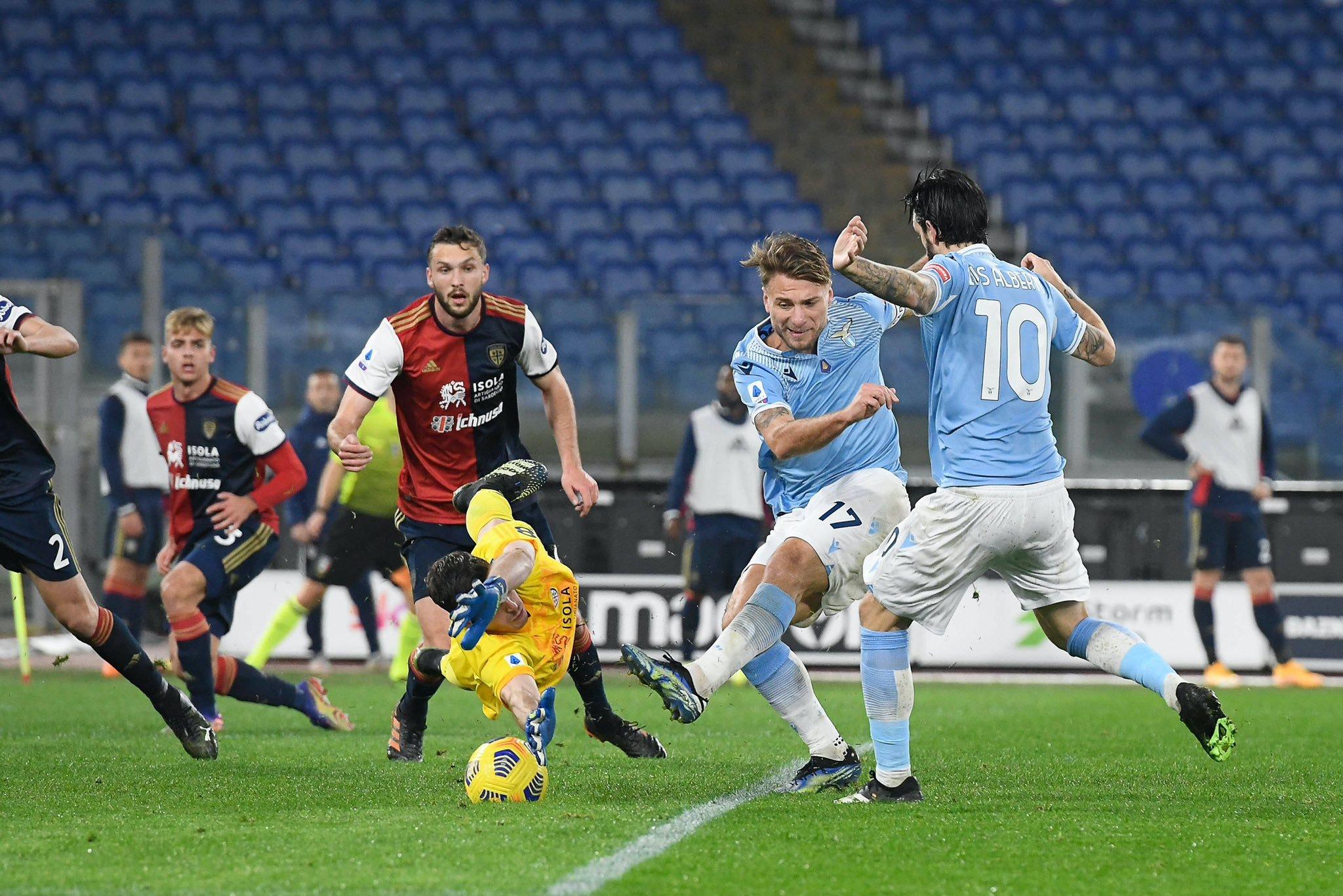 Ciro Immobile is in red-hot form for Lazio