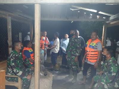 Santri Serambi Aceh Muhammad lrvandi Di Telan Sungai, TNl Bersama Aparat Gabungan Terus Mencari